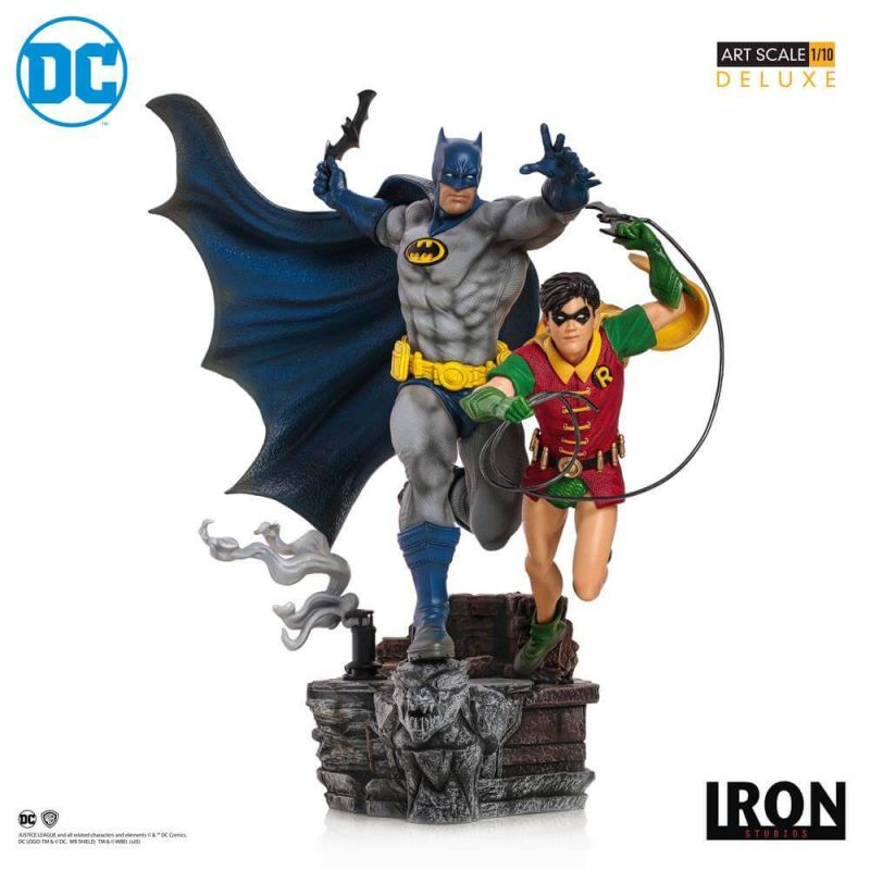 Batman et Robin BDS Art Scale 1/10 Iron Studios Deluxe by Ivan Reis (DC Comics)
