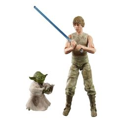 Luke Skywalker and Yoda Black Series Hasbro (Star Wars Episode V) - slightly damaged packaging