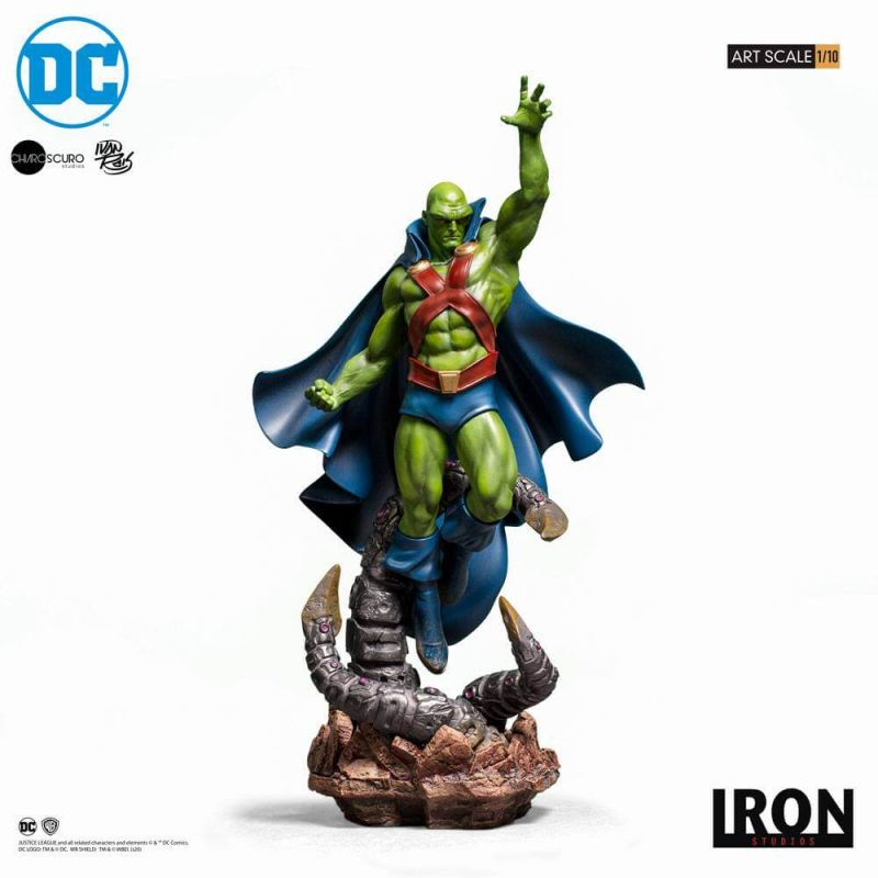 Martian Manhunter Art Scale 1/11 Iron Studios by Ivan Reis (DC Comics)