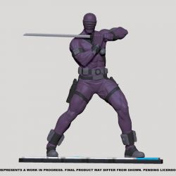 Snake Eyes Pop Culture Shock (GI Joe)