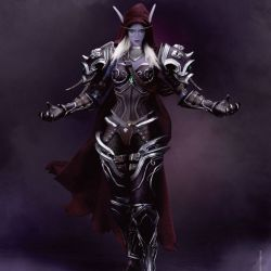 Sylvanas Windrunner Beast Kingdom Dynamic Action Heroes 1/9 (World of Warcraft Battle for Azeroth)