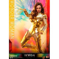 Wonder Woman Hot Toys Deluxe Golden Armor MMS578 (Wonder Woman 1984)