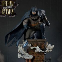 Batman Prime 1 Studio Gotham by Gaslight Blue Version (Batman Arkham Origins)