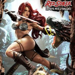 Red Sonja Prime 1 Studio (Red Sonja She-Devil with a Vengeance)