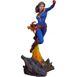 Captain Marvel Sideshow Collectibles (Avengers Assemble)