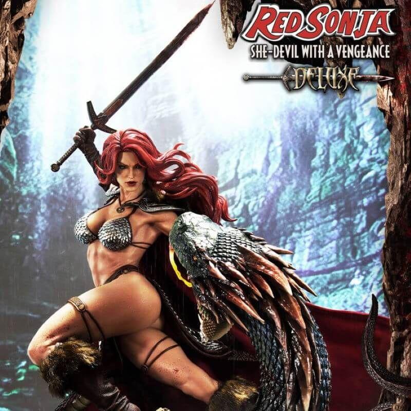 Red Sonja Prime 1 Studio Deluxe Version (Red Sonja She-Devil with a Vengeance)
