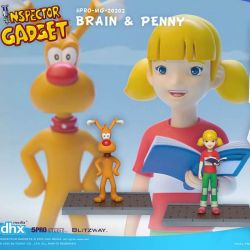 Sophie et Finot Blitzway Mega Hero (Inspecteur Gadget)