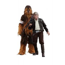 Han Solo et Chewbacca Hot Toys MMS376 (Star Wars 7 The Force Awakens)