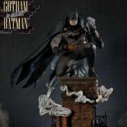Batman Prime 1 Studio Black Version statue (Gotham By Gaslight)