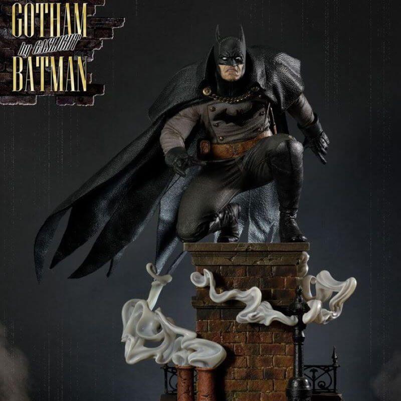 Batman Prime 1 Studio Black Version statue (Gotham By Gaslight)