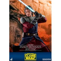 Anakin Skywalker Hot Toys STAP TMS020 (Star Wars The Clone Wars)