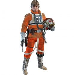 Luke Skywalker Snowspeeder Pilot Hot Toys MMS585 40th Anniversary (Star Wars 5)