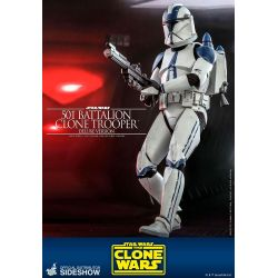 501st Battalion Clone Trooper Hot Toys Deluxe TMS023 (Star Wars The Clone Wars)