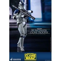 501st Battalion Clone Trooper Hot Toys TMS022 (Star Wars The Clone Wars)