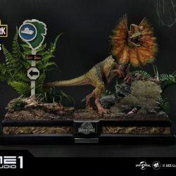 Dilophosaurus Prime 1 Studio Bonus Version (Jurassic Park)