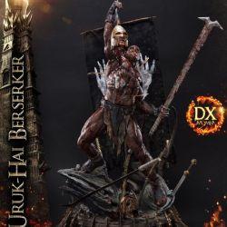 Uruk-Hai Berserker Prime 1 Studio Deluxe Version (Le Seigneur des Anneaux)