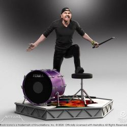 Lars Ulrich Knucklebonz Rock Iconz (Metallica)