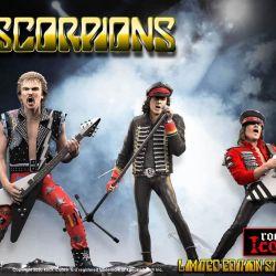 Scorpions Knucklebonz pack 3 statuettes (Scorpions)