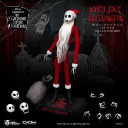Santa Jack Skellington Beast Kingdom Dynamic Action Heroes (The Nightmare Before Christmas)