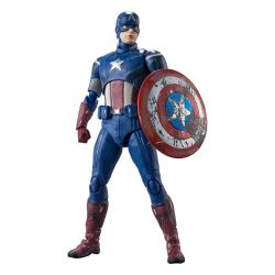 Captain America figurine SH Figuarts (The Avengers)