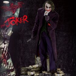 The Joker 1/3 Prime 1 Studio Bonus Version (The Dark Knight)