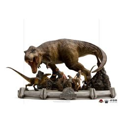 The Final Scene Iron Studios Demi Art Scale (Jurassic Park)