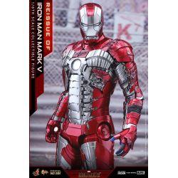 Figurine Iron Man Mark V Hot Toys Diecast MMS400D18 (Iron Man 2)