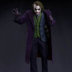 Statue Joker (Heath Ledger) Queen Studios Regular edition (The Dark Knight)