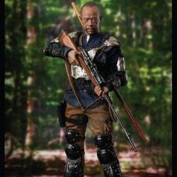 Morgan Jones ThreeZero figure (The Walking Dead)