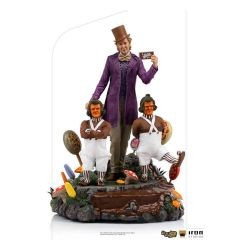 Figurine Willy Wonka Iron Studios Deluxe Art Scale (Charlie et la Chocolaterie)