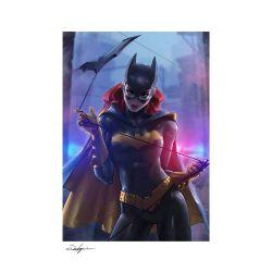 Batgirl Sideshow Fine Art Print poster (DC Comics)