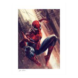 Spider-Man Sideshow Fine Art Print poster (The Amazing Spider-Man)