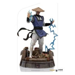 Statue Raiden Iron Studios Art Scale (Mortal Kombat)