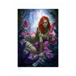 Affiche Poison Ivy Sideshow Fine Art Print Variant (DC Comics)
