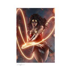 Wonder Woman Sideshow Fine Art Print poster (DC Comics)
