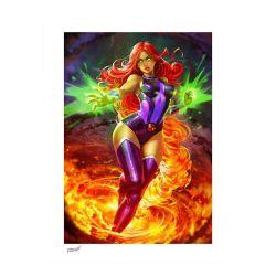 Starfire Sideshow Fine Art Print poster (DC Comics)