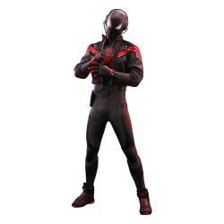 Miles Morales (2020 suit) Hot Toys figure VGM49 (Marvel's Spider-Man)