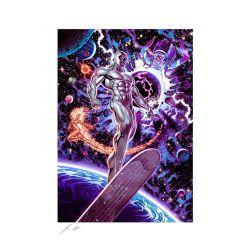 Silver Surfer Sideshow Fine Art Print poster Heralds of Galactus (Marvel Comics)