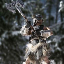 Dragonborn Pure Arts figure Deluxe (The Elder Scrolls V Skyrim)