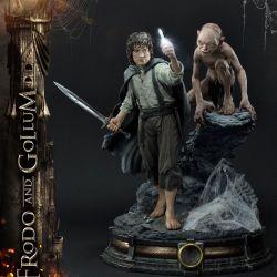 Statue Frodo et Gollum Prime 1 Bonus Version (Le Seigneur des Anneaux)