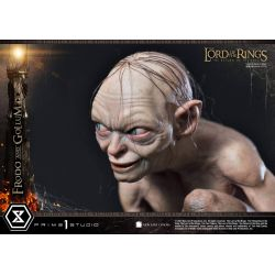 Frodo and Gollum Prime 1 statue Bonus Version (The Lord of the Rings)