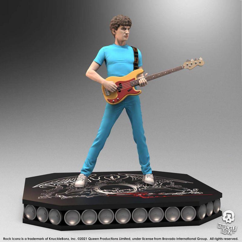 Figurine John Deacon Knucklebonz Rock Iconz (Queen)