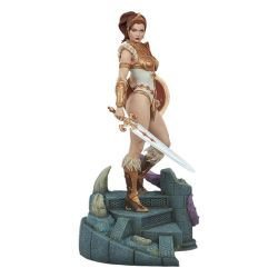 Teela Tweeterhead statue Legends (Masters of the Universe)