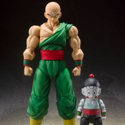 Tenshinhan and Chaoz Bandai SH Figuarts figures (Dragon Ball Z)