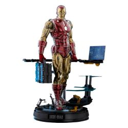 Figurine Iron Man Hot Toys The Origins Deluxe CMS08D38 (Marvel)