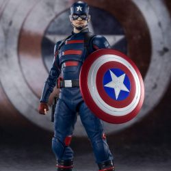 Captain America (John F Walker) Bandai SH Figuarts figure (The Falcon and the Winter Soldier)
