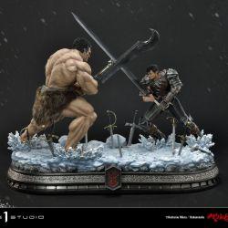 Guts vs Zodd Prime 1 diorama (Berserk)
