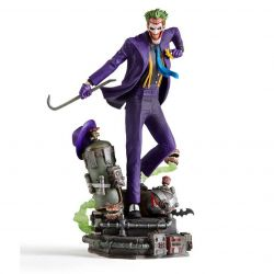 Figurine Joker Iron Studios Deluxe Art Scale (DC Comics)