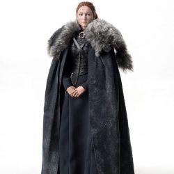 Figurine Sansa Stark ThreeZero Season 8 (Game of Thrones)