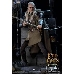 Legolas Asmus figure at Helm's deep (The Lord of the Rings The Two Towers)